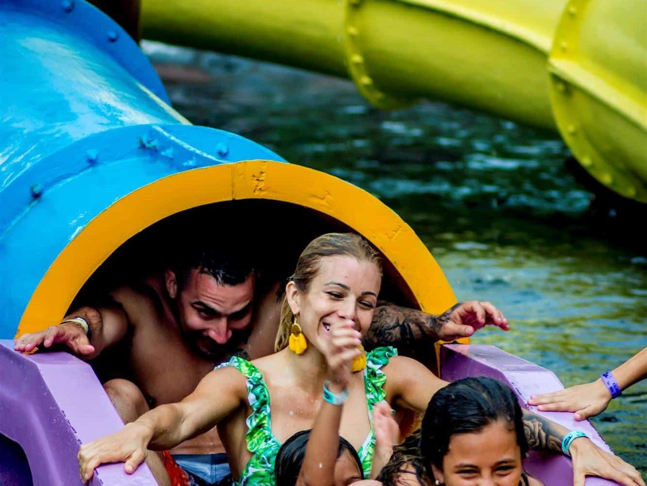 Costa Rica Family Vacation: Hotspring Waterpark in Arenal