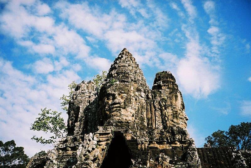 Cambodia Angkor Thom Temple